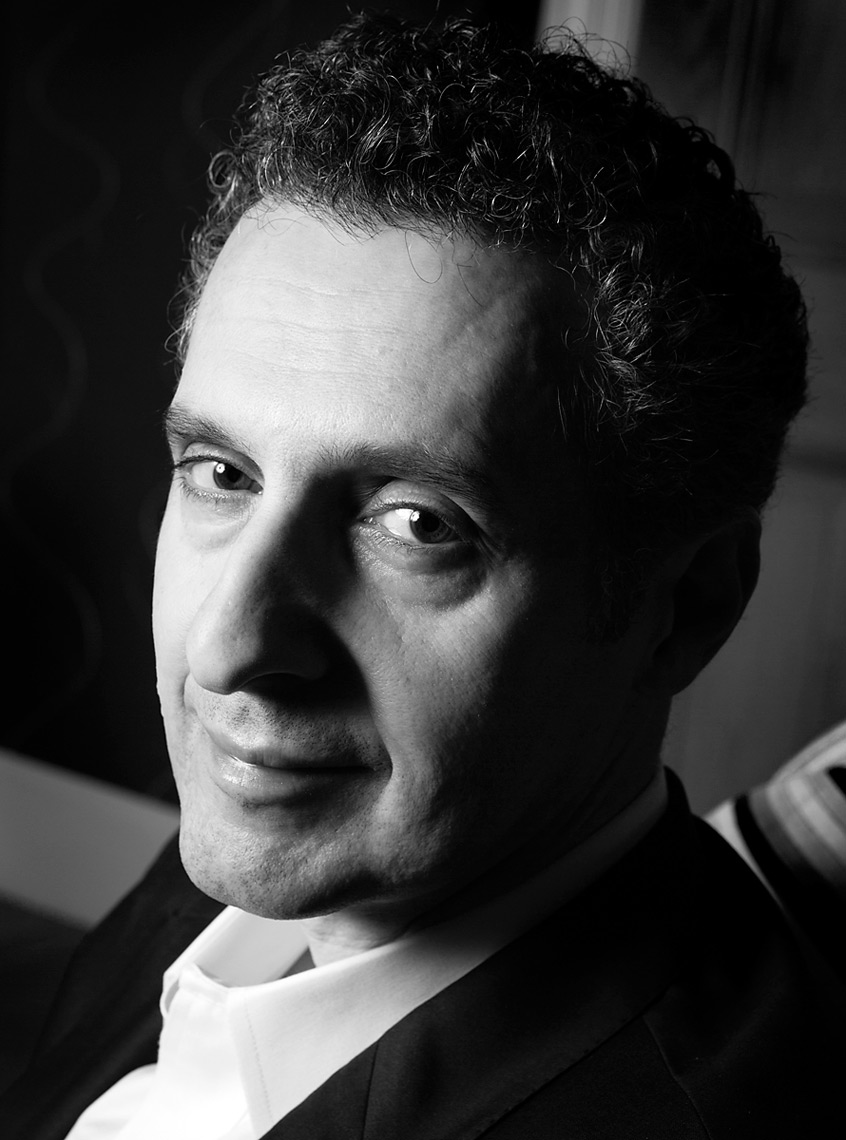 John Turturro portrait by Jennifer Taylor
